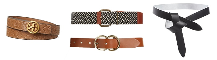 Belts to layer your outfits with | 40plusstyle.com