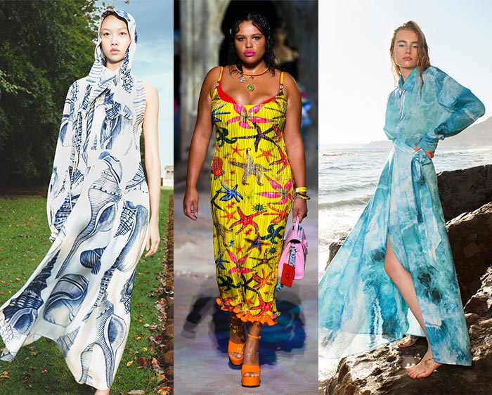 Seaside inspired fashion | 40plusstyle.com