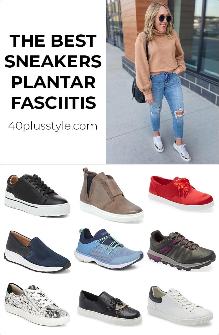 The best sneakers for plantar fasciitis   40plusstyle.com