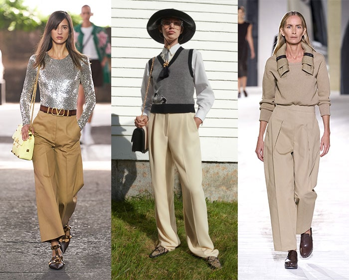 Chinos in the spring fashion trends | 40plusstyle.com