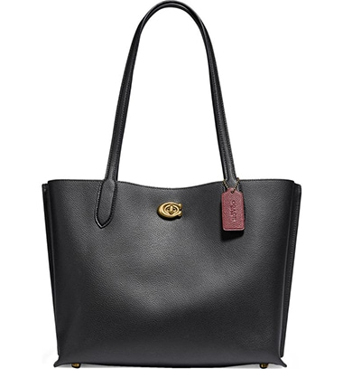 COACH Willow Leather bag | 40plusstyle.com