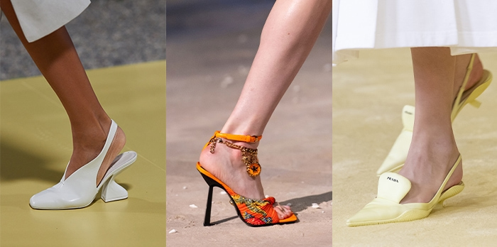 Shoe trends for 2021 - folded in heels   40plusstyle.com