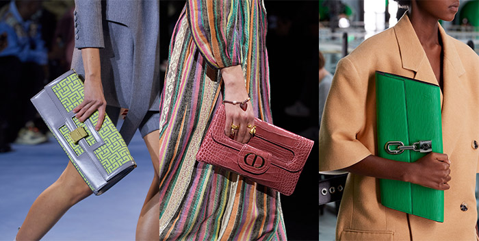 Envelope clutch bags | 40plusstyle.com