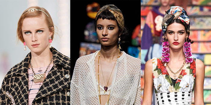 Headbands on the catwalks for spring   40plusstyle.com
