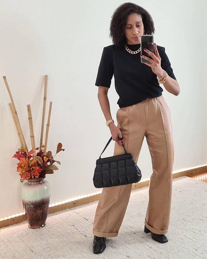 Outfits for spring - Jacque wears a number of this spring's trends together | 40plusstyle.com