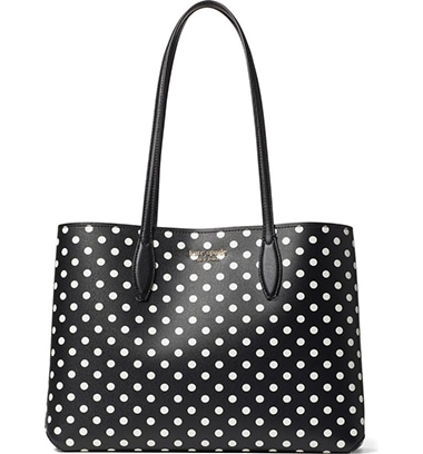 Kate Spade New York Lady Dot All Day Large Tote | 40plusstyle.com