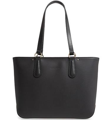 Longchamp Cavalcade Leather Tote | 40plusstyle.com