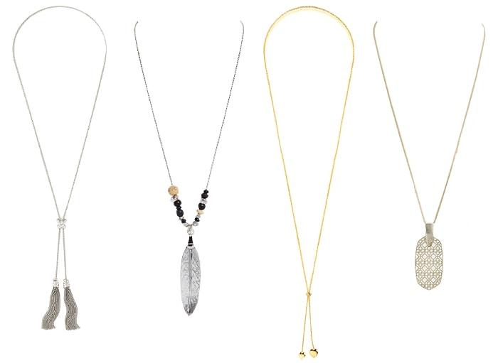 Long necklaces | 40plusstyle.com