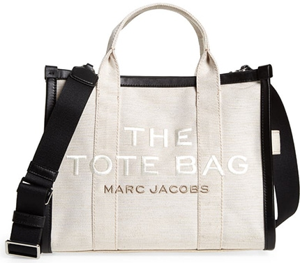 THE MARC JACOBS The Summer Canvas Tote Bag | 40plusstyle.com