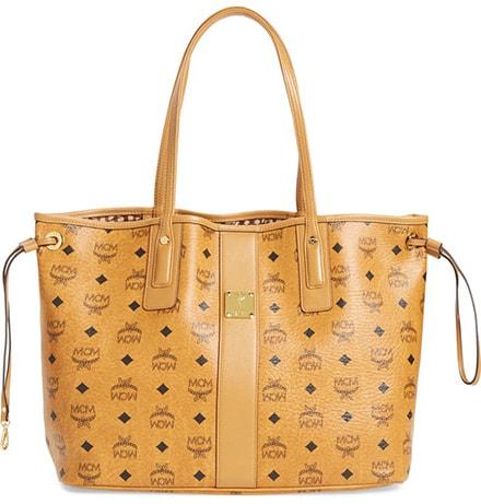 MCM Medium Liz Reversible Shopper | 40plusstyle.com