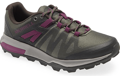 Shoes with arch support - Merrell hiking sneakers | 40plusstyle.com
