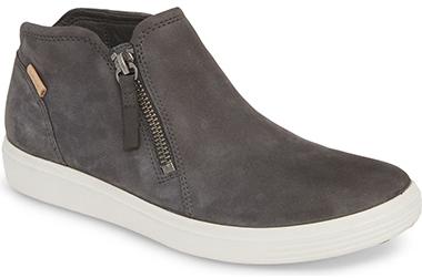 ECCO Soft 7 Mid Top Sneaker   40plusstyle.com
