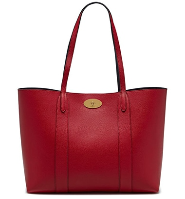 Mulberry Bayswater Leather Tote | 40plusstyle.com
