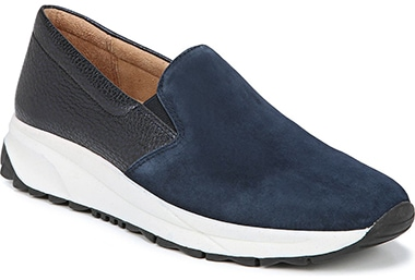 Best sneakers for plantar fasciitis - Naturalizer Selah Slip-On Sneaker   40plusstyle.com