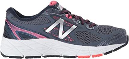 Best sneakers for plantar fasciitis - New Balance Women's W840V3 Running Shoe   40plusstyle.com