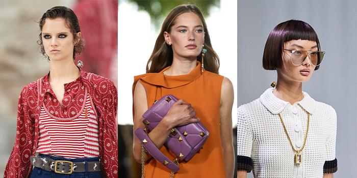 Jewelry trends 2021 - asymmetrical earrings   40plusstyle.com