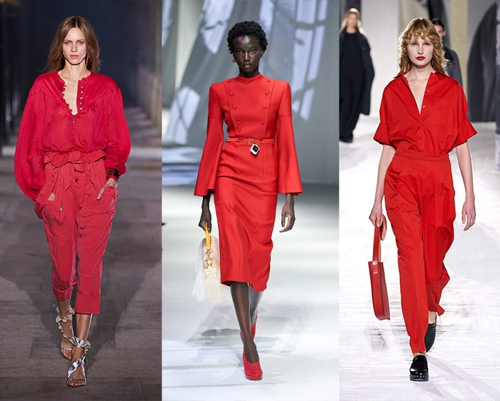 Fashion color trends 2021 - red   40plusstyle.com