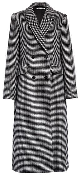 Reformation long coat | 40plusstyle.com