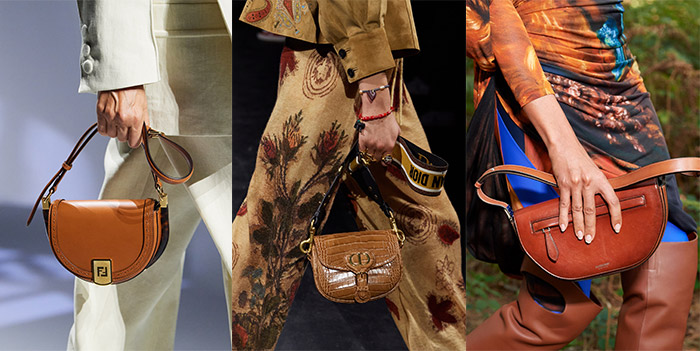 Bag trends 2021 - saddle bags | 40plusstyle.com
