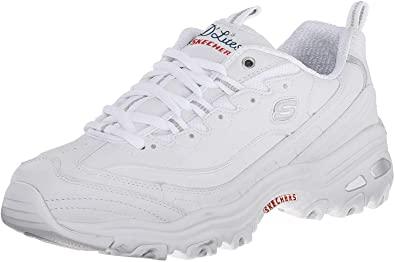 Skechers D'Lites Memory Foam Sneaker   40plusstyle.com