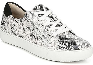 Best sneakers for plantar fasciitis - Naturalizer Macayla Sneaker   40plusstyle.com