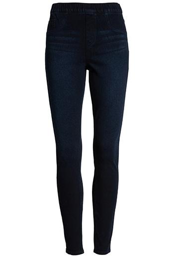 SPANX jean-ish leggings | 40plusstyle.com
