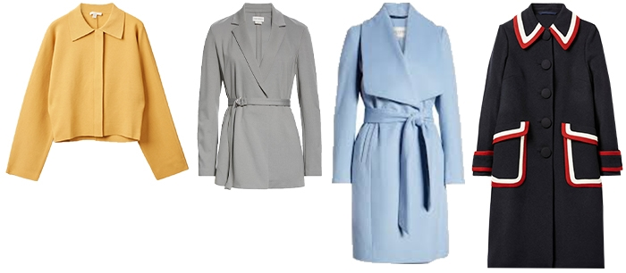 spring outfits - coats | 40plusstyle.com