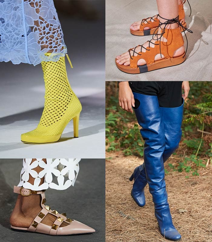 the top spring 2021 shoe trends