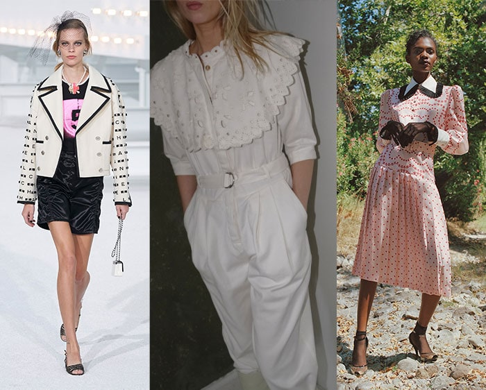 Statement collars are on trend for 2021 | 40plusstyle.com