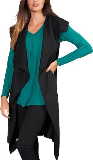 Stella Carakasi Take Note Vest   40plusstyle.com