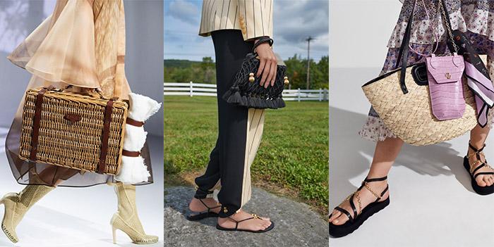 Bag trends 2021 - straw purses | 40plusstyle.com