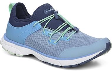Best sneakers for plantar fasciitis - VIONIC London Sneaker   40plusstyle.com