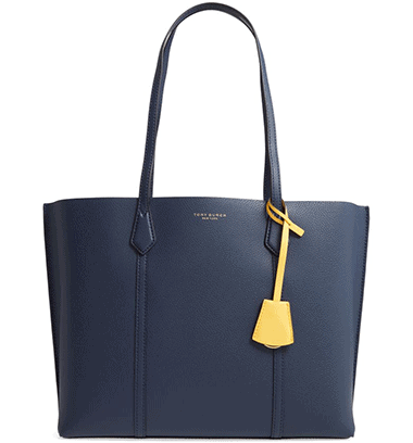Tory Burch Perry Leather bag | 40plusstyle.com
