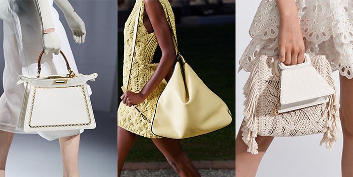 Bag trends 2021 - triangular shaped bags | 40plusstyle.com