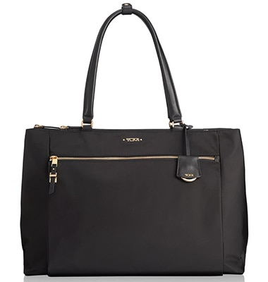 Tumi Voyageur Sheryl Nylon Business Tote | 40plusstyle.com