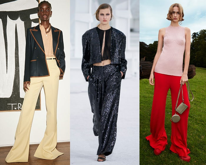 2021 fashion trends - wide pants | 40plusstyle.com