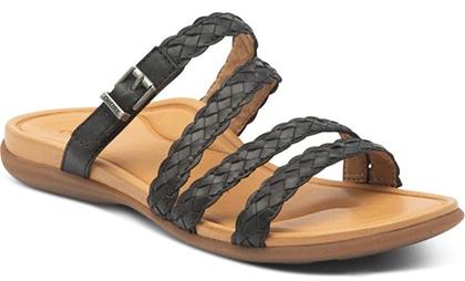 Plantar fasciitis shoes - Aetrex Brielle Slide Sandal | 40plusstyle.com
