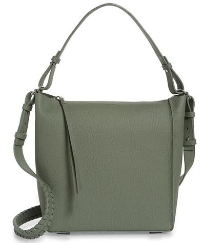 ALLSAINTS Kita Leather Shoulder/Crossbody Bag   40plusstyle.com