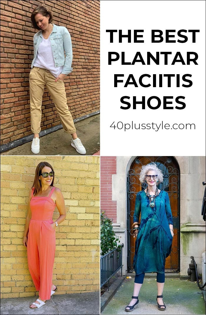 The best plantar fasciitis shoes for women over 40 | 40plusstyle.com