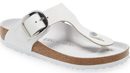 Birkenstock Gizeh Big Buckle Slide Sandal | 40plusstyle.com