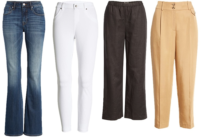 Pants and Jeans for classic fashion style   40plusstyle.com