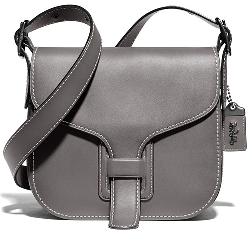COACH Courier Leather Convertible Bag   40plusstyle.com