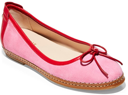Cole Haan Cloudfeel All Day Ballet Flat   40plusstyle.com