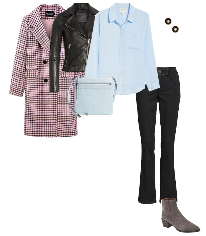 Wearing two coats outfit | 40plusstyle.com