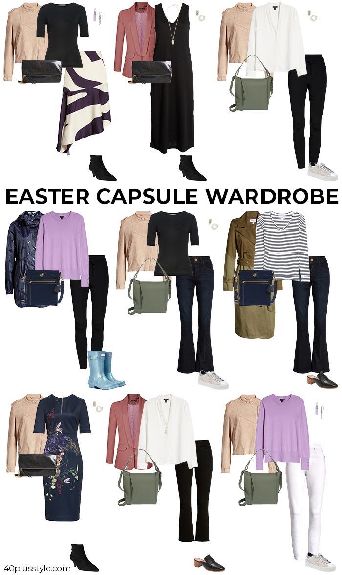 Easter capsule wardroben 2021 | 40plusstyle.com