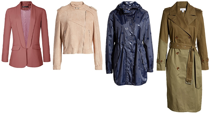 Coats and jackets for the Easter weekend | 40plusstyle.com