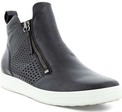ECCO Soft 7 Perforated Bootie | 40plusstyle.com