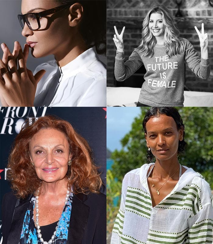 Female founders for International Women's Day | 40plusstyle.com