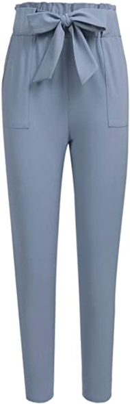 Freeprance paper bag trousers | 40plusstyle.com