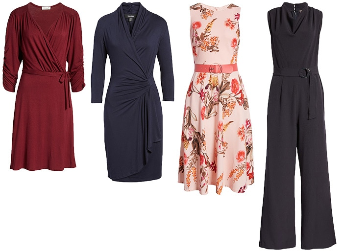Dresses and jumpsuit to wear for the hourglass body   40plusstyle.com